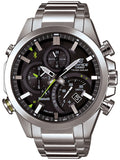 Casio Edifice Smart Mobile Link Solar Power Chrono Watch EQB500D-1A - Shop at Altivo.com