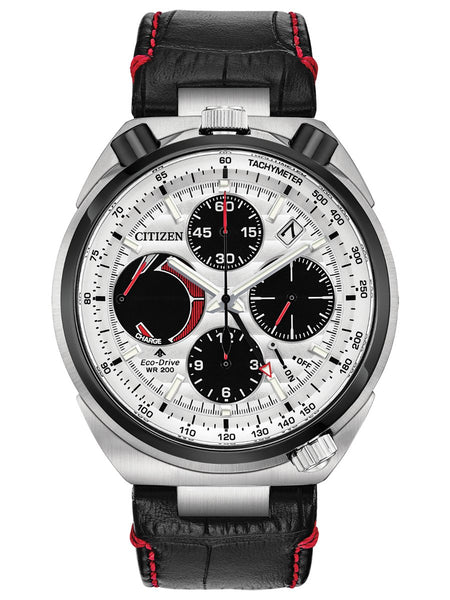 Citizen PROMASTER TUSNO CHRONO RACER Leather Mens Watch AV0071-03A - Shop at Altivo.com