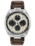 Citizen PROMASTER TUSNO CHRONO RACER Leather Mens Watch AV0079-01A - Shop at Altivo.com