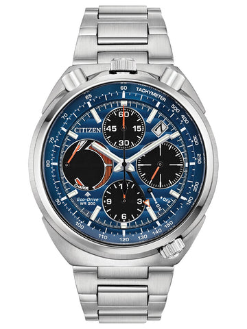 Citizen PROMASTER TUSNO CHRONO RACER Steel Mens Watch AV0070-57L - Shop at Altivo.com
