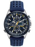 Citizen WORLD CHRONOGRAPH A-T Blue World Timer Mens Watch AT8020-03L - Shop at Altivo.com