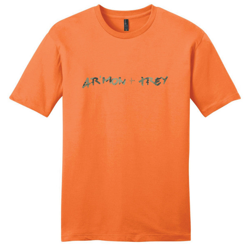 Ar'mon + Trey Orange Camo Tee