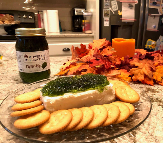 Howell's Mercantile Pepper Jelly Cream Cheese