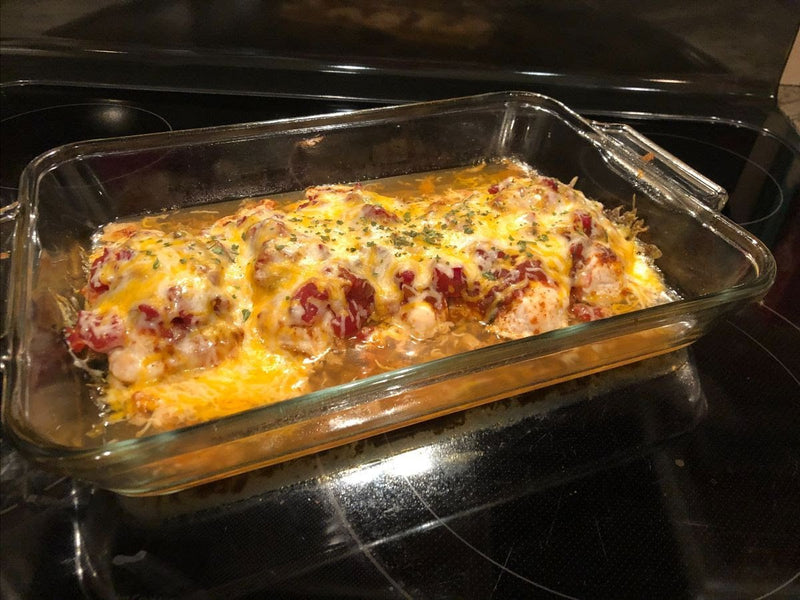 Howell's Mercantile Salsa Chicken Bake Recipe