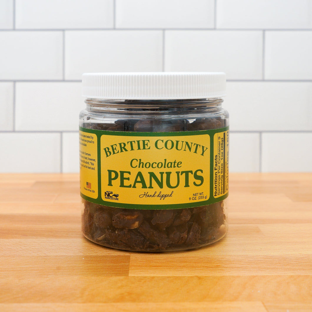 Bertie Co. Chocolate Covered Peanuts - Howell's Mercantile