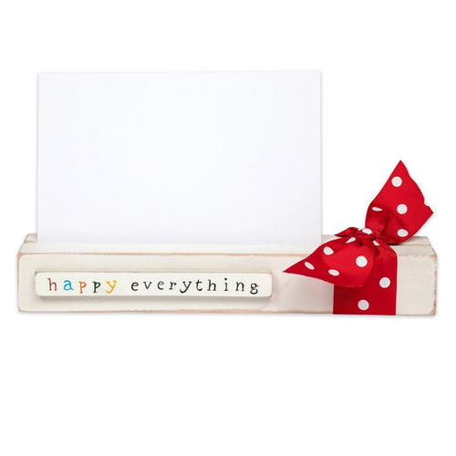 Happy Everything Card/ Picture Holder - Howell's Mercantile