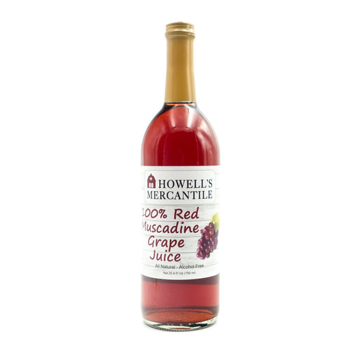 Howell's Mercantile 100% Red Muscadine Grape Juice - Howell's Mercantile