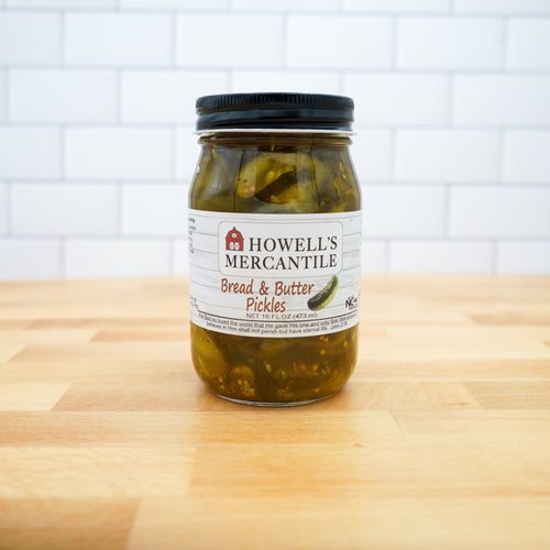 Howell's Mercantile Bread & Butter Pickles - Howell's Mercantile