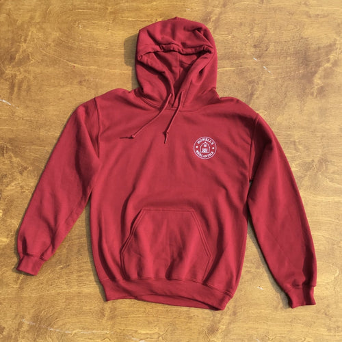 Howell's Mercantile Crimson Hoodie - Howell's Mercantile