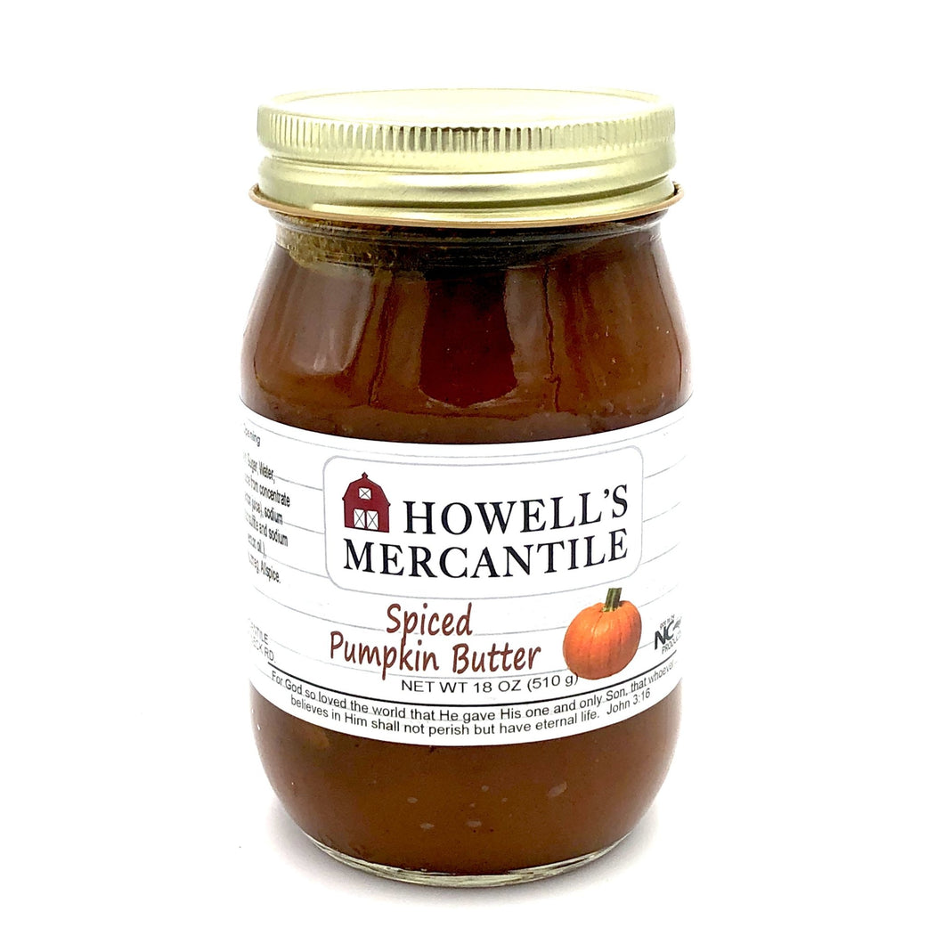 Howell's Mercantile Spiced Pumpkin Butter - Howell's Mercantile