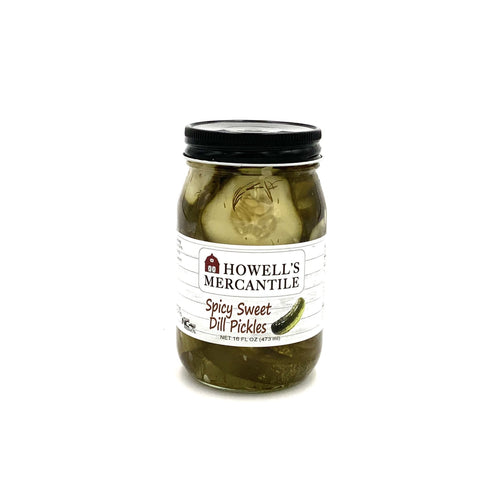 Howell's Mercantile Spicy Sweet Dill Pickles - Howell's Mercantile