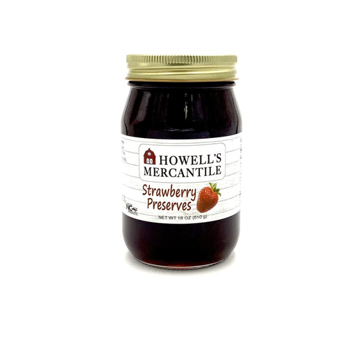Howell's Mercantile Strawberry Preserves - Howell's Mercantile
