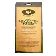 Organic Cotton Produce Bags - Howell's Mercantile