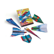 Paper Planes Craft Kit - 18 Paper Planes on Colorful Designed Paper with Instructions - Howell's Mercantile