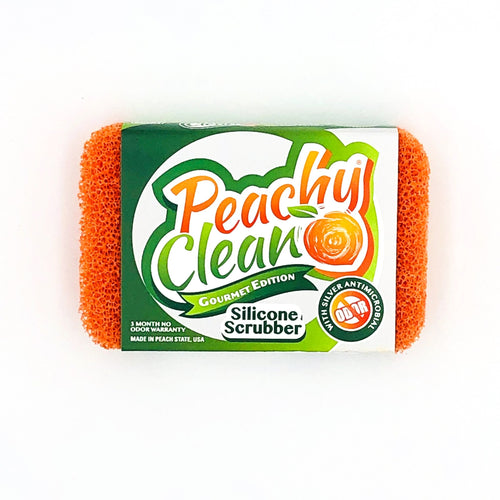 Peachy Clean Silicone Scrubber - Howell's Mercantile