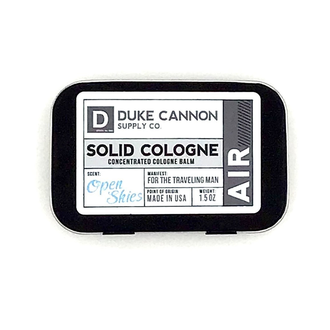 SOLID COLOGNE - AIR - Howell's Mercantile