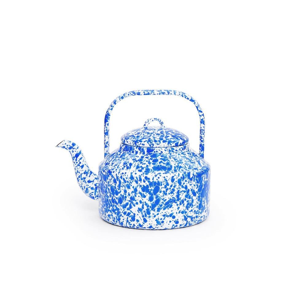 Splatter Tea Kettle - Howell's Mercantile