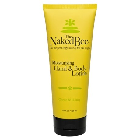 The Naked Bee Moisturizing Hand & Body Lotion, Citron & Honey , 6.7 oz - Howell's Mercantile
