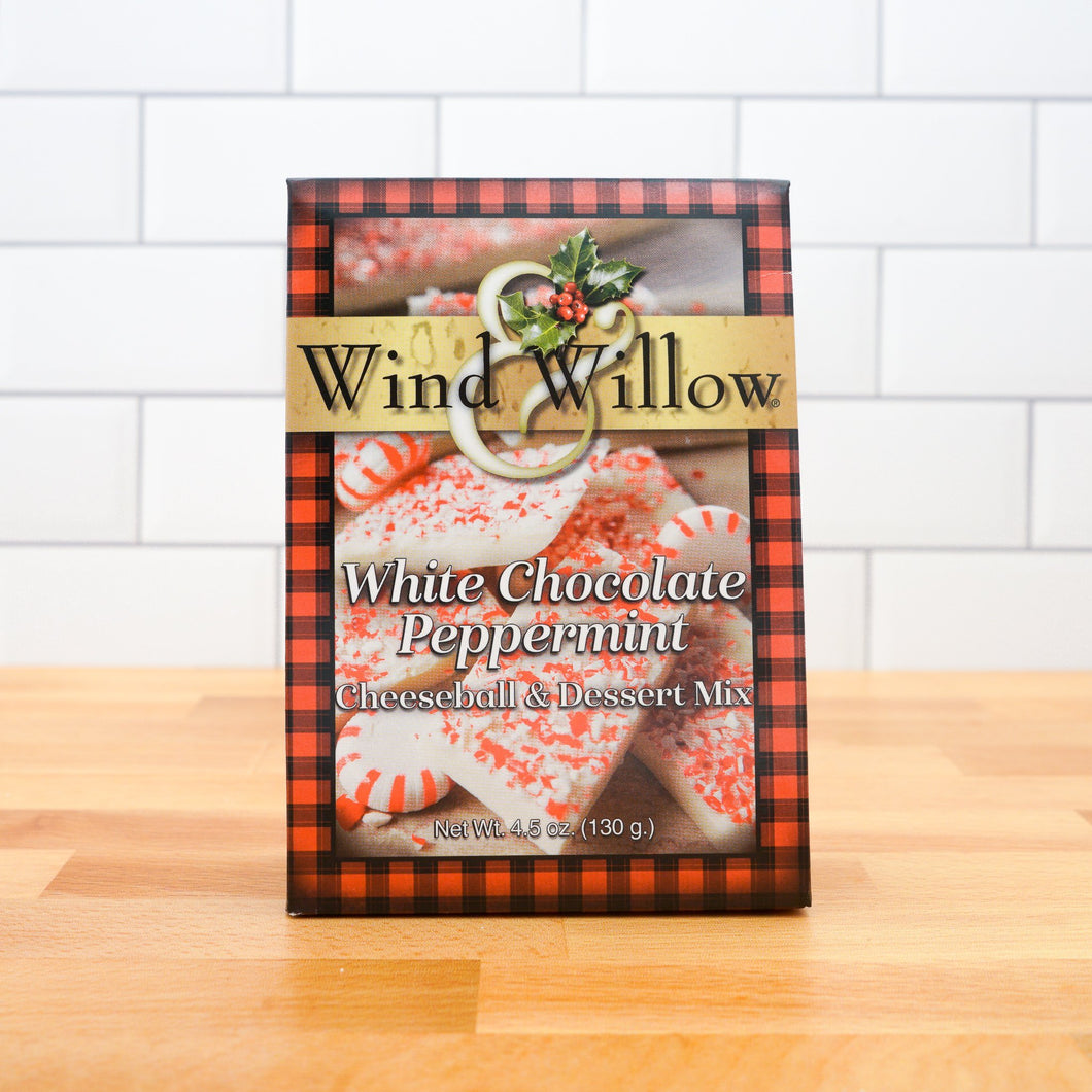 Wind & Willow White Chocolate Peppermint Cheeseball & Dessert Mix - Howell's Mercantile