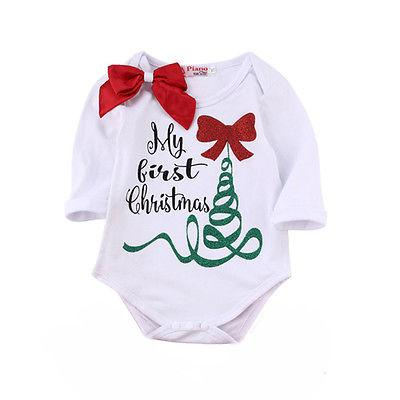 My First Christmas Onesie - Todlrboutik