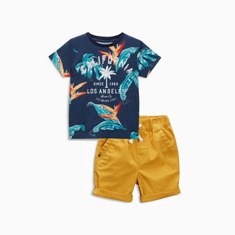 T-shirt & shorts Set-BABY BOYS-Todlrboutik