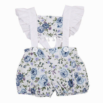 Floral Jumpsuit Hollow-BABY GIRLS-Todlrboutik