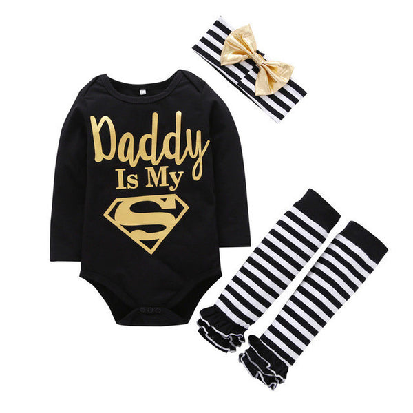 DADDY IS MY SUPERMAN-BABY GIRLS-Todlrboutik