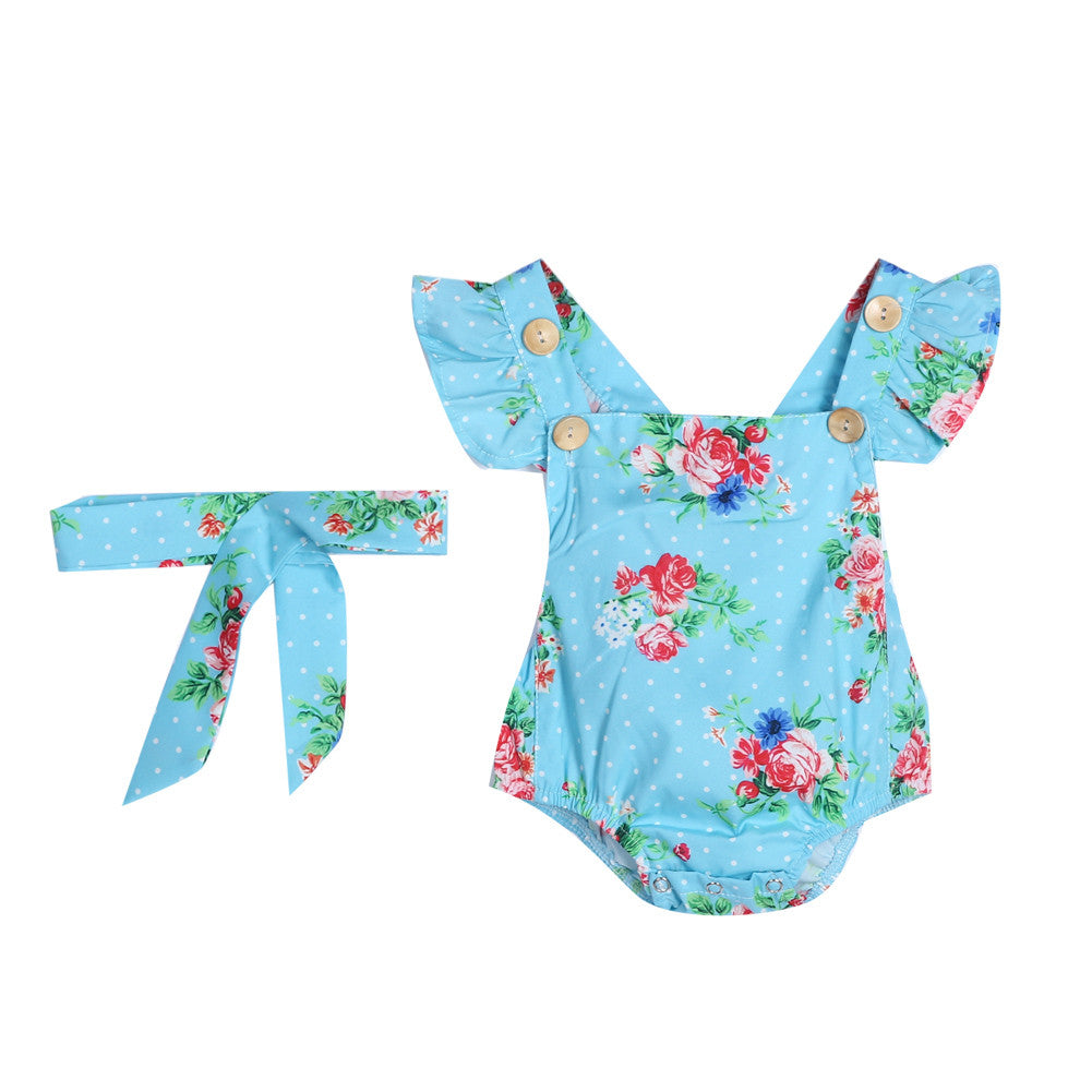 Newborn Floral Outfits-BABY GIRLS-Todlrboutik