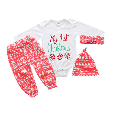 Christmas 4pcs Set - Todlrboutik