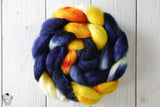 Starry Night - BFL/Tussah - 4oz - In Stock