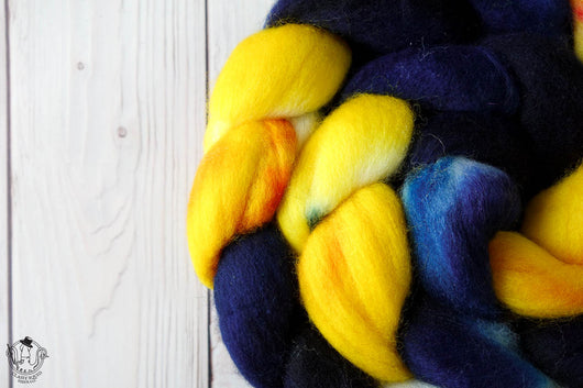Starry Night - Polwarth - 4oz