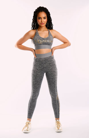 Miss Photogenic Crop top and leggings
