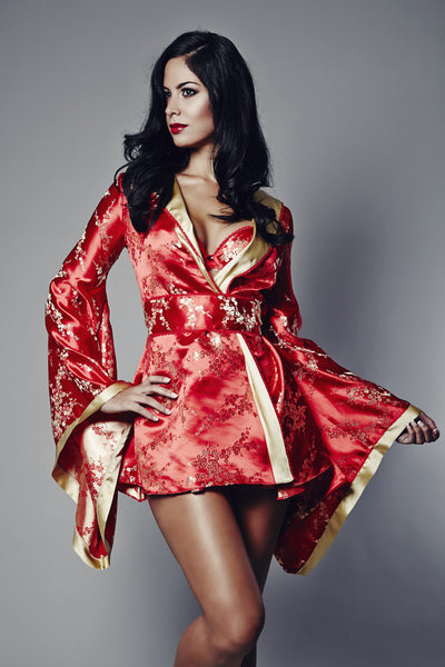 Rubies Of The Orient Kimono, Kimonos - Miss Photogenic