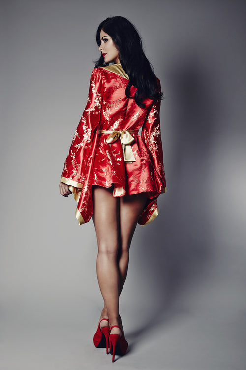 Rubies Of The Orient Kimono (GOLD Collection), Kimonos - Miss Photogenic