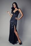 Midnight Breeze Black Nightgown, Nightgowns - Miss Photogenic