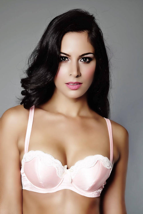 Wings Of Bella Rosa Balcony Bra, Bras - Miss Photogenic