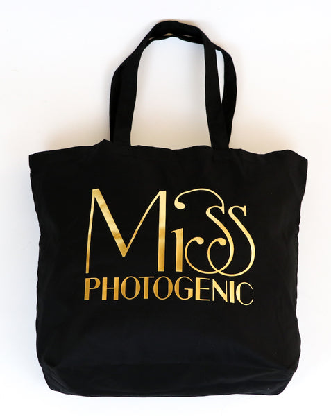 Black Miss Photogenic® Tote Bag