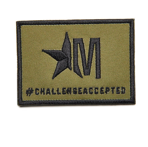 #CHALLENGEACCEPTED - OLIVE DRAB PATCH