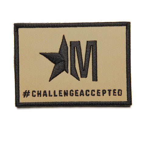 #CHALLENGEACCEPTED - DESERT TAN PATCH