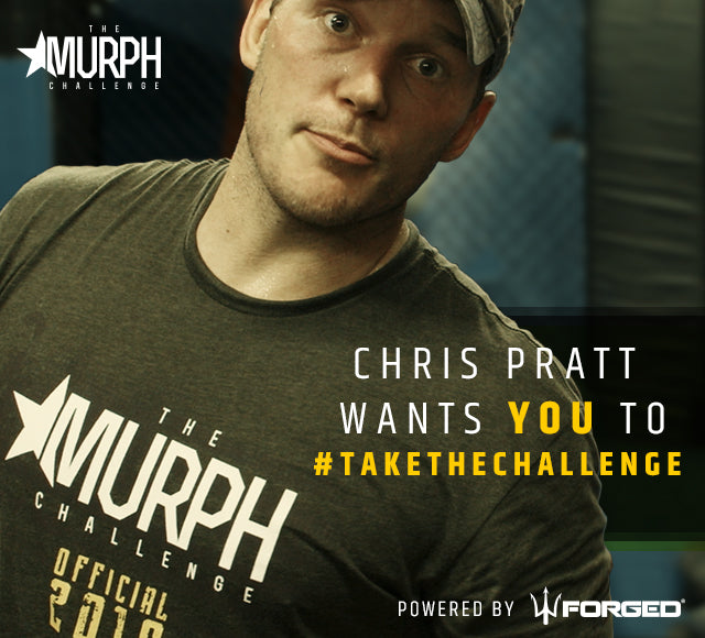 Chris Pratt does The Murph Challenge