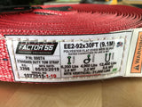 Standard and Extreme Duty Tow Straps Specifications by Factor 55 at KxK Industries LLC
