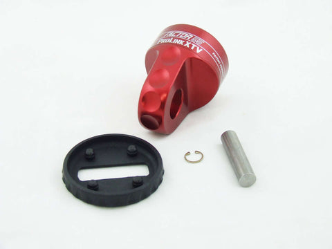 ProLink XTV (ATV/UTV) Powersports Shackle Mount Assembly by Factor 55 Red Powdercoated at KxK Industries LLC