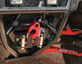 UltraHook - XTV (ATV/UTV) Powersports Winch Hook by Factor 55 Red Powdercoat at KxK Industries LLC