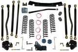 Jeep Wrangler 4.5 Inch Pro Series 3 Link Long Arm Lift Kit 2007-2011 JK Clayton Off Road Off-Road KxK Industries LLC Offroad