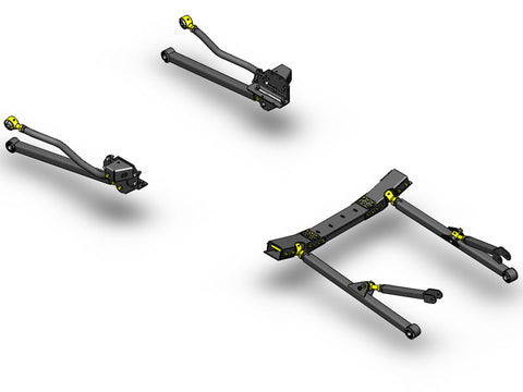 Jeep Wrangler Long Arm Upgrade Kit 2007-2011 JK Clayton Off Road Off-Road KxK Industries LLC Offroad