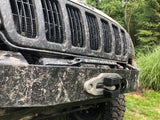 Jeep Grand Cherokee WJ Stubby Front Winch Bumper KxK Industries LLC Off Road