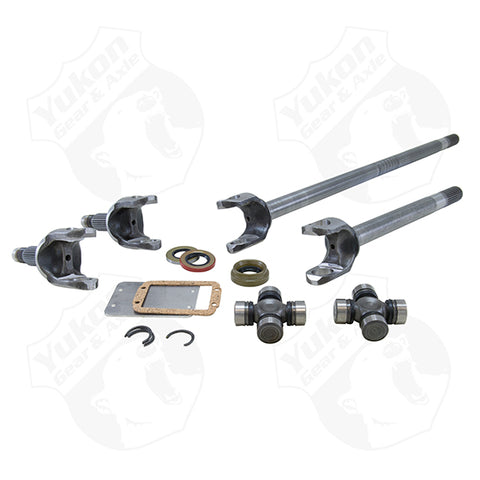 Yukon Front Axle Kit 4340 Chrome-Moly Replacement For Dana 30 '84-'01 XJ '97-Newer TJ '87 & UP YJ Yukon Gear & Axle