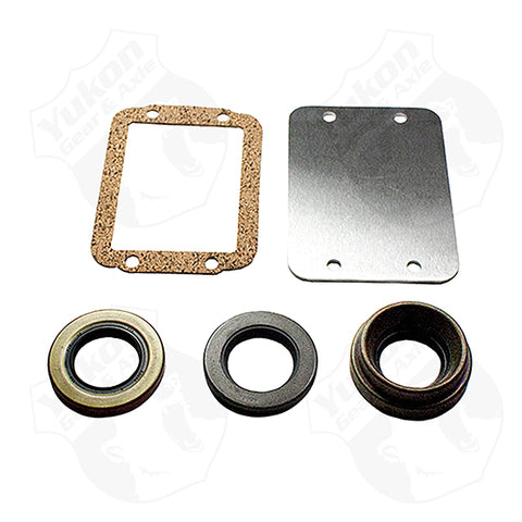 Dana 30 30-Spline Disconnect Block-Off Kit Includes Seals and Plate Yukon Gear & Axle