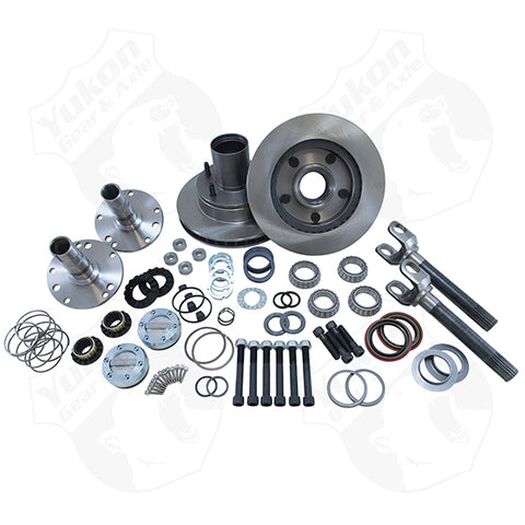 Yukon Spin Free Locking Hub Conversion Kit 2000-2001 Dodge For Dana 44 Yukon Gear & Axle KxK Industries LLC