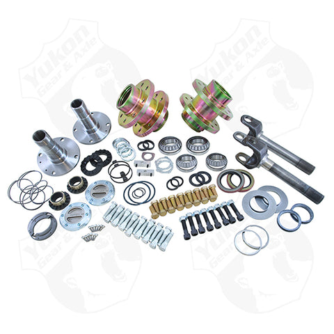 Spin Free Locking Hub Conversion Kit For Dana And AAM 00-08 DRW Dodge Yukon Gear & Axle Yukon KxK Industries LLC